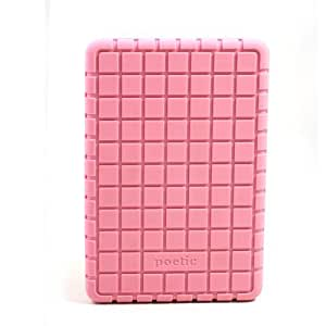 "Poetic (TM) Heavy Duty Protector Stylish Silicone Case for Amazon Kindle Fire 7"" Tablet Light Pink"