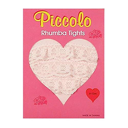 - Toddler Girls PINK Ruffle RHUMBA Tights PICCOLO Girl 2T-4T