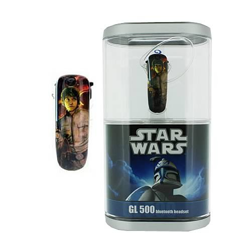 Underground Toys Star Wars Luke Skywalker Earloomz Bluetooth Headset ()