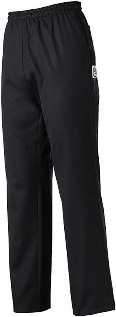L, Black EGOCHEF Pantaloni con Coulisse