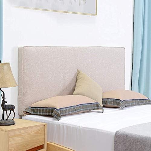 柔らかい枕、無垢材のダブルベッド背もたれ、ベルトサポートシート洗濯可能な防塵枕を読むためのベルトレストルーム4色、4サイズ(色:D、サイズ:120 * 55cm)