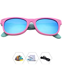 Kids Polarized Sunglasses With Strap For Boys Girls Toddlers