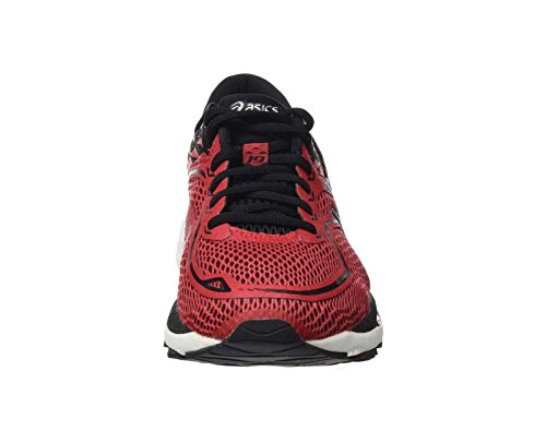 Rojo Asics Gel silver black Zapatos Cumulus Red nbsp;hombres negro plata De 19 Prime q6wpq0