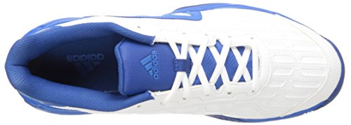Adidas Performance Heren Barricade Court 2 Tennisschoen Wit / Wit / Shock Blue