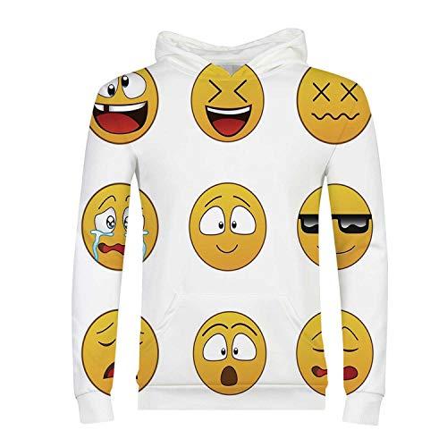 (Emoji Comfortable Hoodies,for)