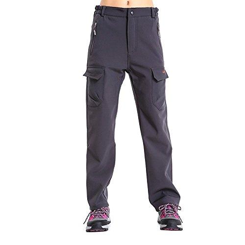 Women's Insulated Fleece Lined Cargo Pants Water-Repellen...