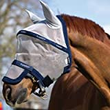 Horseware Rambo Plus Fly Mask Horse Silver