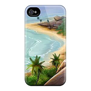 Iphone 4/4s Case, Premium Protective Case With Awesome Look - River Mountain