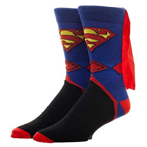 Superman Cape For Men (Superman Men's Crew Socks With)