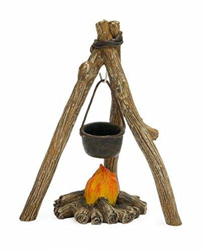 Cheap Miniature Fairy Garden Campfire Cookout Mg273