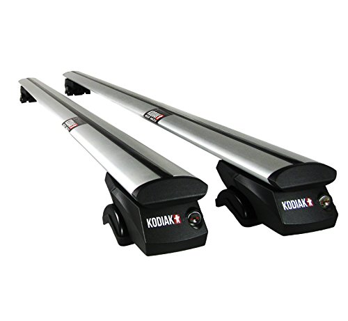Roof Rail Crossbars (Kodiak AeroGrip 53