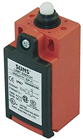 SUNS International SN3212-SP-B3 Roller Plunger Compact Limit Switch w// 3m Cable Bottom Exit