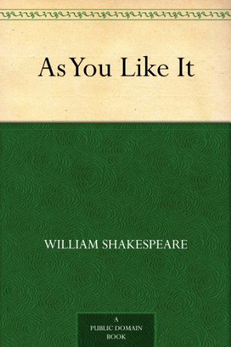 As You Like It by [Shakespeare, William]