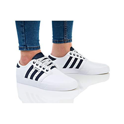 Ftwbla 000 Gum4 de adidas Blanco Seeley Zapatillas Skateboarding J Maruni Adulto Unisex qng8wF