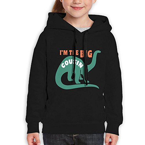 Price comparison product image Vintopia Girl Big Cousin Fashion Travel Black Hoodies XL