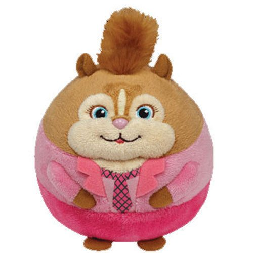 TY Beanie Baby Ballz - BRITTANY the Chipette (Medium Size - 8 inch) New Ball Toy ^G#fbhre-h4 8rdsf-tg1379568