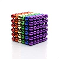 لعبة كرات المغناطيس التعليمية - (متعدد الألوان)