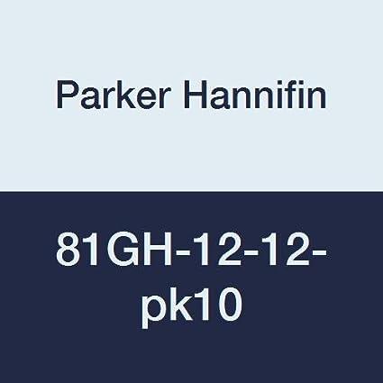 Parker Hannifin 81GH-12-12 Brass Garden Hose Fitting 3//4 Male Hose Thread x 3//4 Female Thread 3//4 Male Hose Thread x 3//4 Female Thread Parker Hannifin Corporation