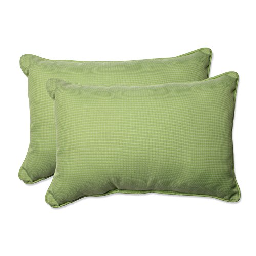 (Pillow Perfect Outdoor/Indoor Tweed Over-Sized Rectangular Throw Pillow (Set of 2),)