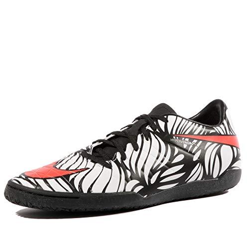 95d8118a9 Nike Men s Hypervenom Phelon II Neymar Jr Indoor Soccer Shoes(Black Bright  Crimson White) (9.5)