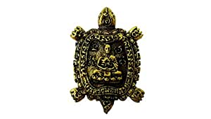 Antique Turtle lp' Lew brass Thai buddha amulet for holy success pendant with amulet box & gift