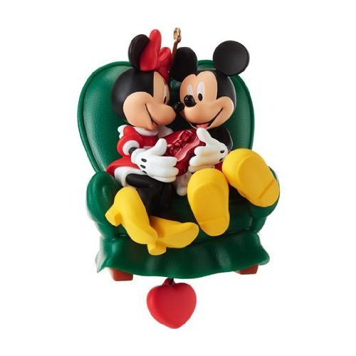 Two To A Chair - Mickey and Minnie 2013 Hallmark Ornament -