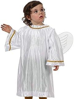 Atosa-17262 Disfraz de Angel Niño Bebé-Tal, color blanco, 0 ...
