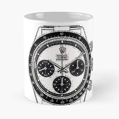 Rolex Daytona Paul Newman Wrist Watch - Best Gift Coffee Mugs 11 Oz Father Day