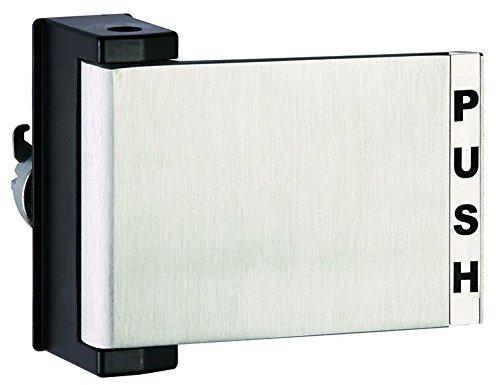 Push-Pull Paddle Door Handle,, Right Hand in Aluminum Finish, Durable commercial & residential, door hardware, door handles, locks