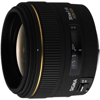 Amazon.com : Sigma 30mm f/1.4 EX DC HSM Lens for Sigma Digital SLR ...