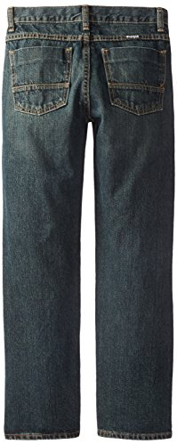 Wrangler Big Boys' Authentics Boot Cut Jeans, Forest Denim, 8 by Wrangler (Image #2)