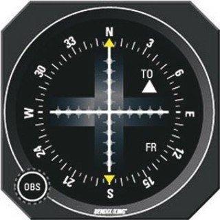 BENDIX KING KI-206 VOR/LOC/GLIDESLOPE ()