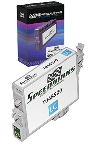 Speedy Inks Remanufactured Ink Cartridge Replacement for Epson T048520 (Light Cyan)