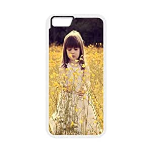 Cute Girl iPhone 6 4.7 Inch Cell Phone Case White Z0030051