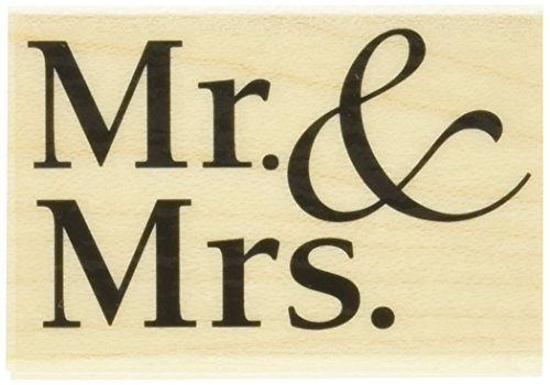 Hero Arts Mr. and Mrs. Woodblock ()