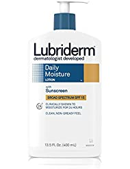 Lubriderm Daily Moisture Lotion SPF 15 - 13.5 oz