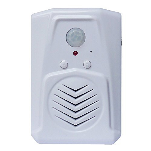 PIR Motion Sensor, Pro Edition with Multi-Track feature, download your own MP3 files, Play speech, music or sound effects by Talking Products