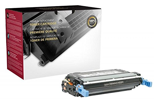 Fine Line Printing Compatible Toner Cartridge Replacement for HP 643A ( Black )