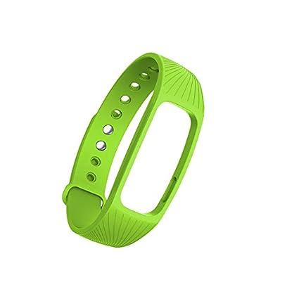 Kofun Reemplazo Rastreador de Fitness Monitor de Ritmo Cardíaco Correa Muñequera Para IPRO ID107 Reloj Inteligente Púrpura