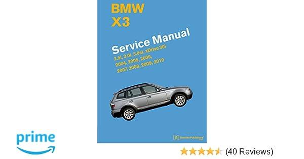 2004 bmw x3 repair manual