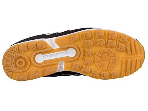 Flux Black Gum Sneaker adidas Originals Zx Men's White 6tnCtFqwU