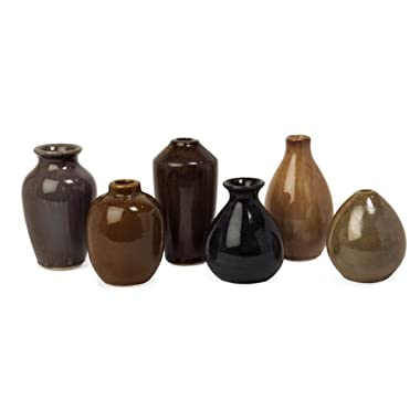 IMAX 35073-6 Mini Vases, Set of 6