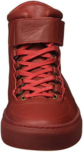 K-Swiss Men's High Court Low-Top Sneakers Red (Red/Red) JwA3g