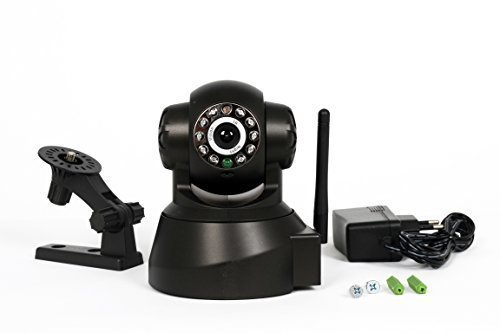 IP NETWORK SICHERHEITS ÜBERWACHUNGS KAMERA WEBCAM VIDEO WIFI WLAN WIRELESS KABELLOS CAMERA NACHTMODUS P2P