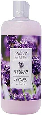 Upper Canada Soap Brompton and Langley Foaming Bubble Bath, Lavender Vanilla