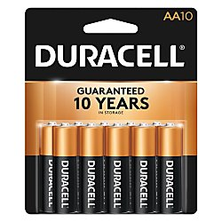 Duracell Coppertop Alkaline Aa Batteries - 10 Count