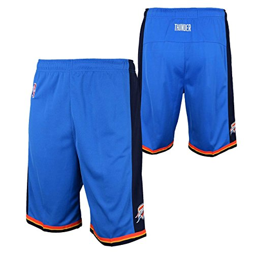Youth Home Replica Basketball Shorts (Oklahoma City Thunder Youth NBA Replica Shorts Royal (Medium))