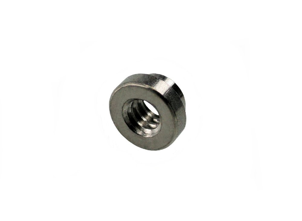 Unicorp ECLSS-032-1 Round Captive Nut Self-Clinching, 10-32 Thd x .040 thk, Stainless QTY-100