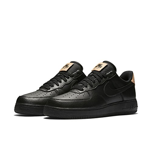 Nike Air Force 1 '07 LV8 Black Brown Größe 6,539 Farbe Black