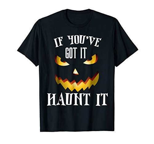Halloween T-shirt If You Ve Got It Haunt It Men